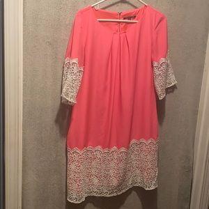 Gianni bono bright color dress